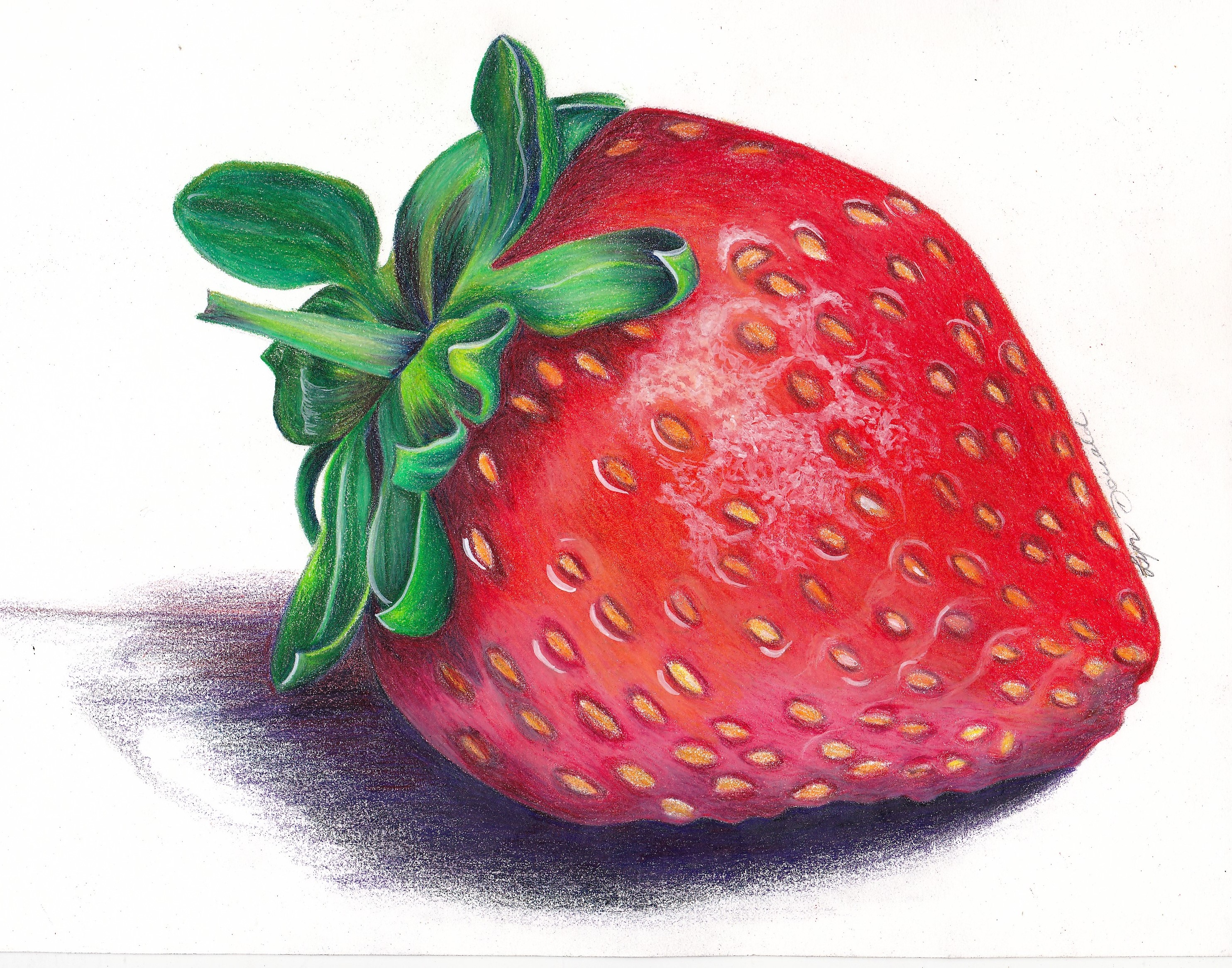 Strawberry-Coloured Pencil
