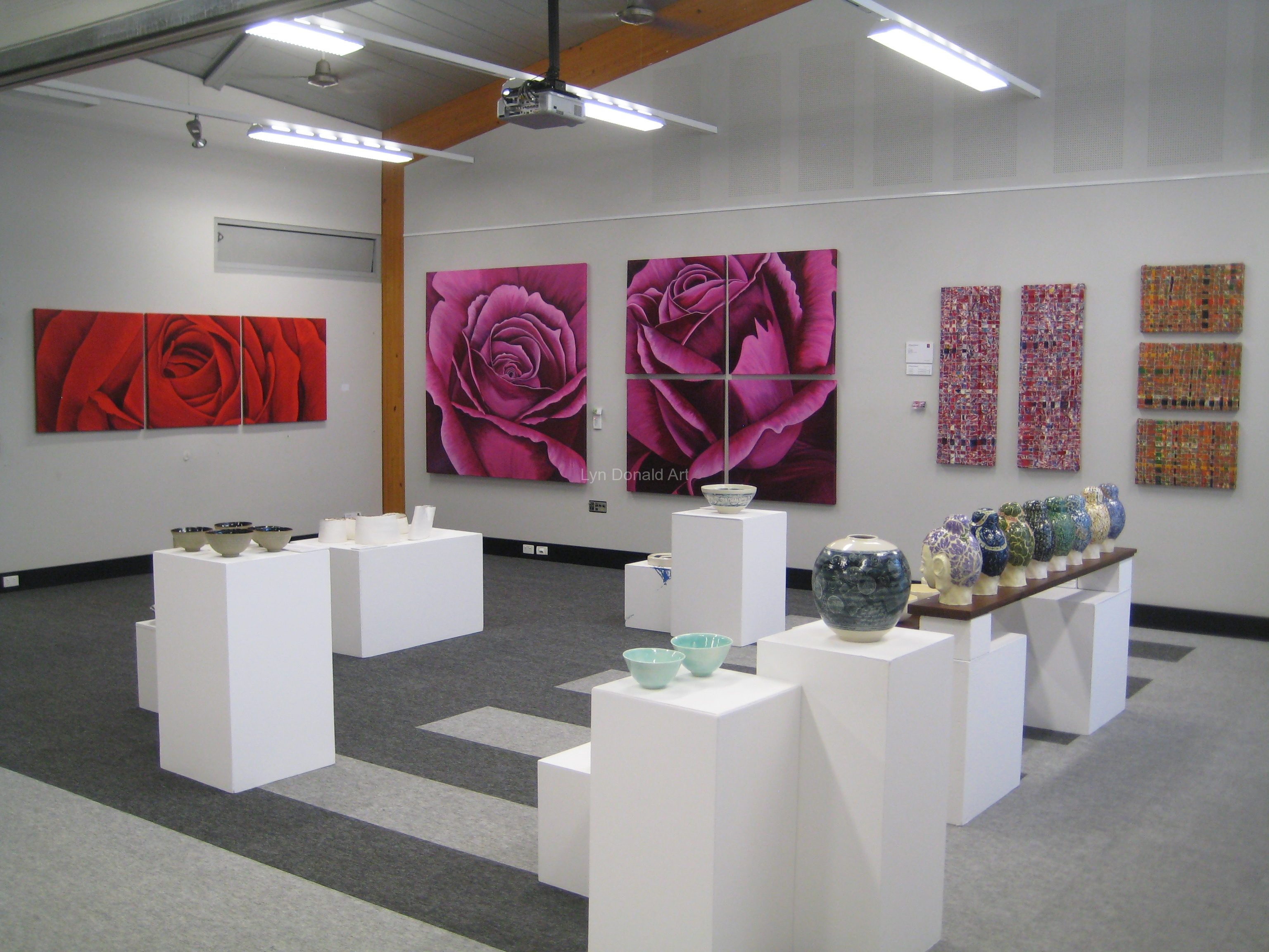 Lyn's Art ExhibitedNoosa Exhibition