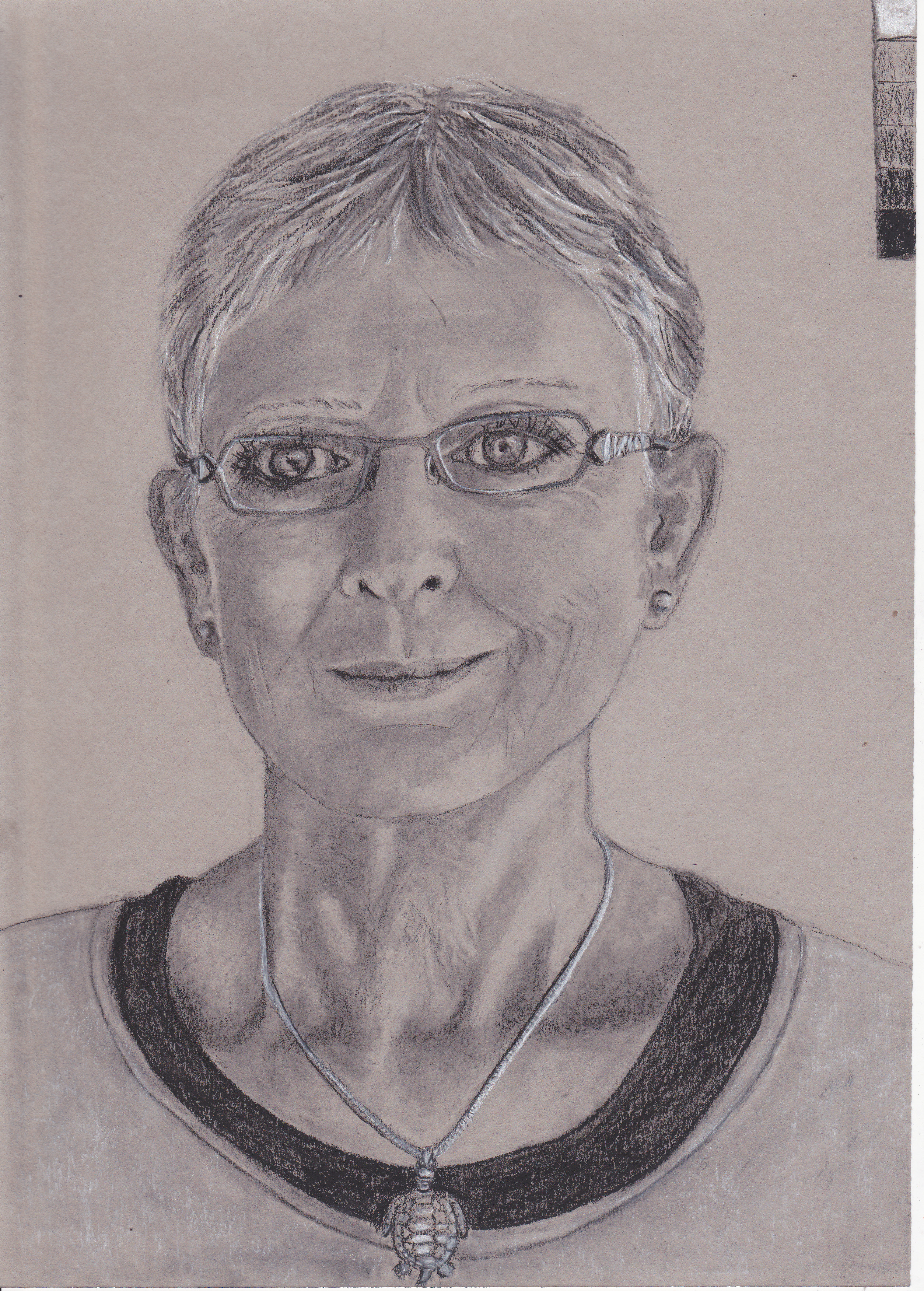 Danie Champness-Self Portrait