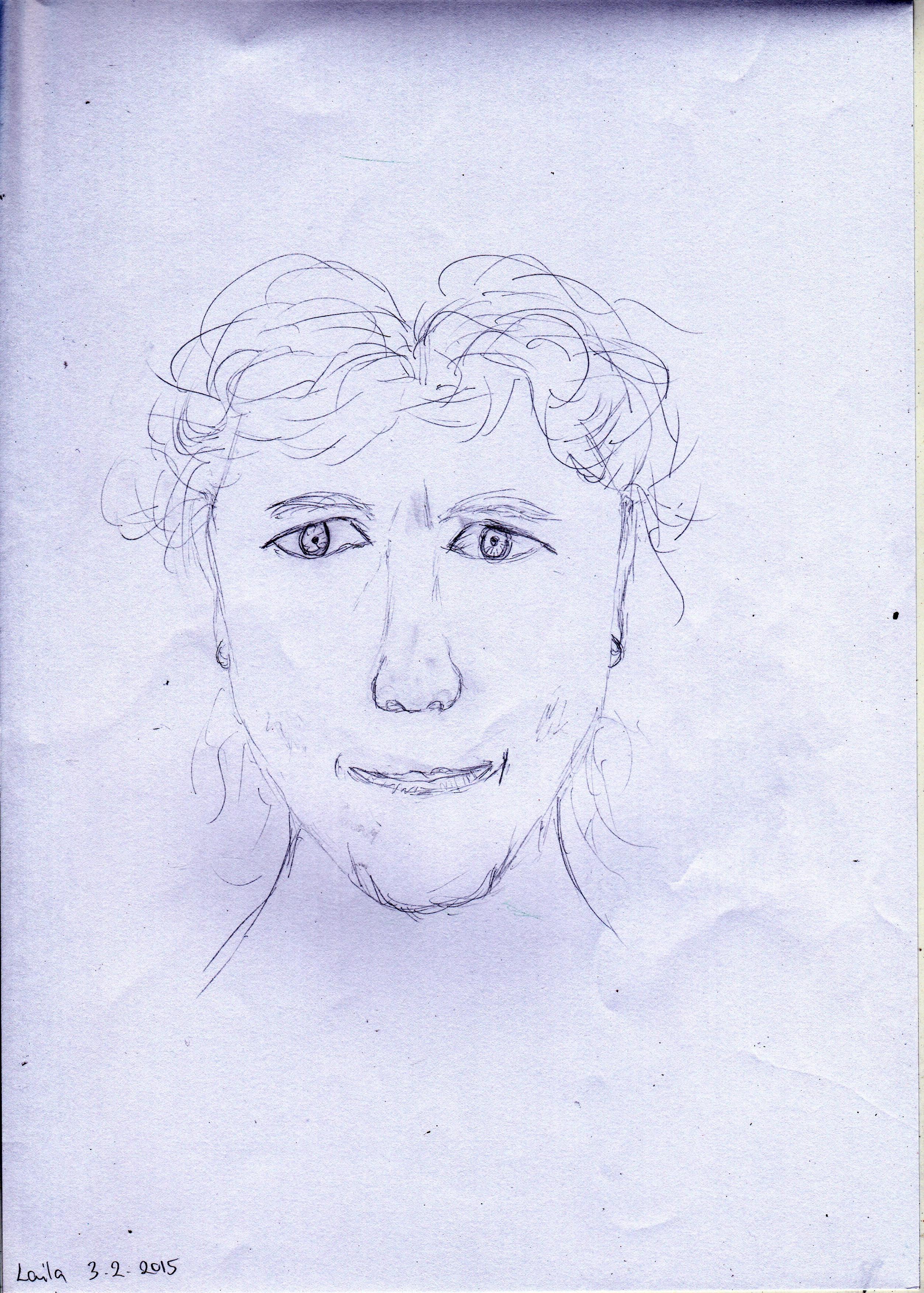 Laila Tonder-Before Portrait